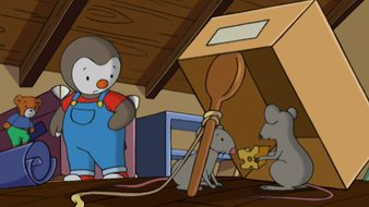 Les souris du grenier de Papi'cha