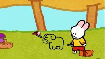 Didou, dessine-moi un cochon