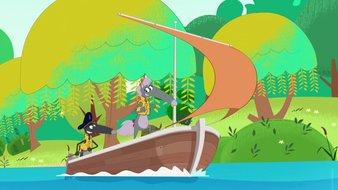 Le Loup qui voulait être capitaine de bateau