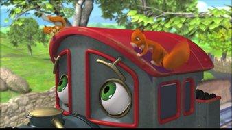 Koko et les écureuils