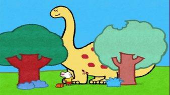 Didou, dessine-moi un dinosaure