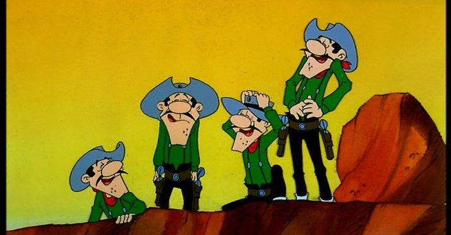Regarder: Lucky Luke : les Dalton en cavale