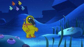 Le Loup qui voulait explorer les fonds marins