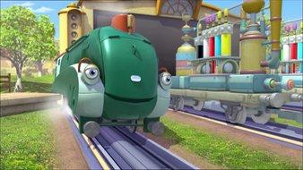 Wilson et le wagon peinture