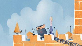 La construction des châteaux forts