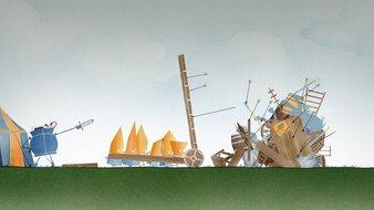 L'assaut des châteaux forts
