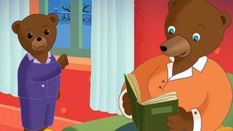 Petit Ours Brun a peur du loup