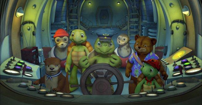 Regarder: Franklin et ses Amis : Voyage au fond des mers