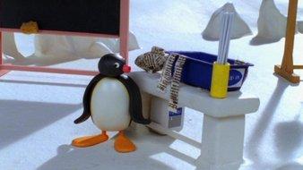Pingu et le papier mâché