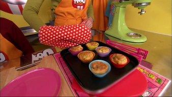 Muffins dalmatiens