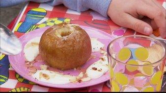 Pommes caramélisées à la grecque