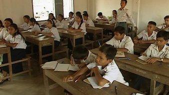 Mon école au Cambodge