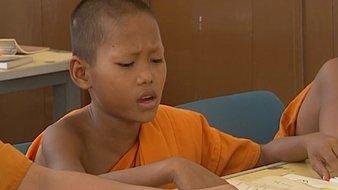 Mon école de moines en Thaïlande