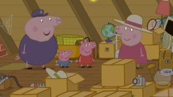 Le grenier de Mamy et Papy Pig