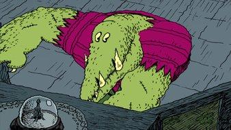 Les dents de crocodile