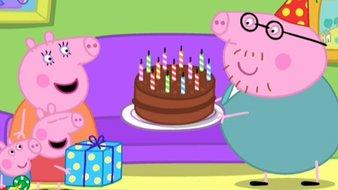L'anniversaire de Papa Pig