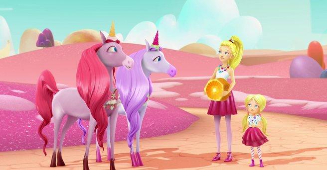 Regarder: La grange des licornes