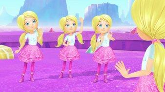 Barbie et les quatre Chelsea