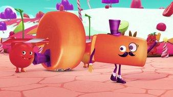 La parade du royaume des bonbons