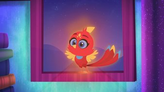 Rubis, l'oiseau flamboyant