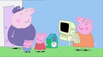 L'ordinateur de Papy Pig