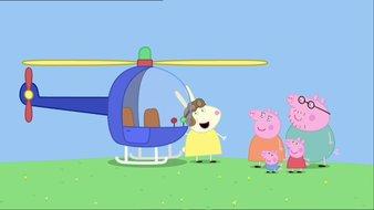 L'hélicoptère de Mademoiselle Rabbit