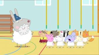 Le cours de gymnastique