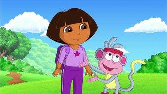 Le spectacle de gymnastique de Dora