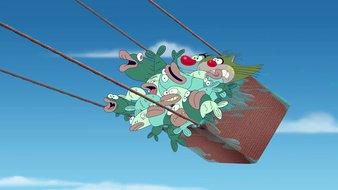 Panique en montgolfière
