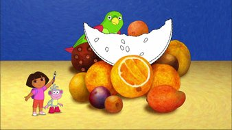 Dora et le pinceau magique