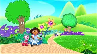 Dora au pays des merveilles - partie 1