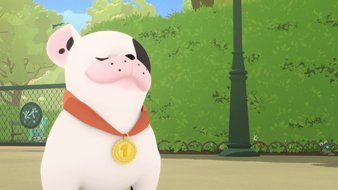 La médaille de Toto
