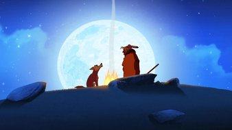 Roc-Tranquille et le coyote