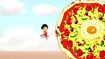La pizza de la réussite