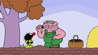 Cochon gaffeur