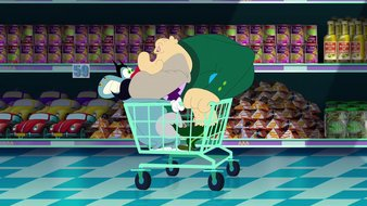 Bazar au supermarché