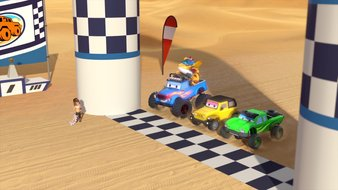 Le rallye des Grandes Dunes