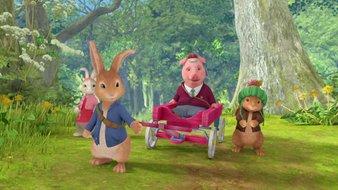 L'aventure de Moufle et de Petit Cochon Robinson