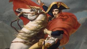 Bonaparte franchissant les Alpes au Grand Saint-Bernard