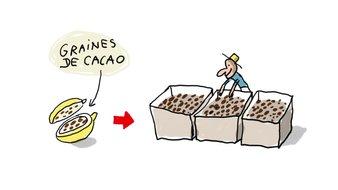 Comment fabrique-t-on le chocolat?