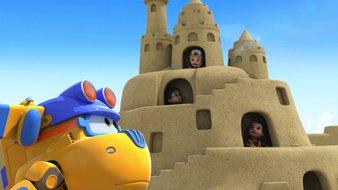 Le gigantesque château de sable