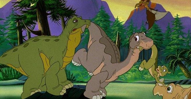 Regarder: Le Petit Dinosaure : Petit-Pied et son nouvel ami